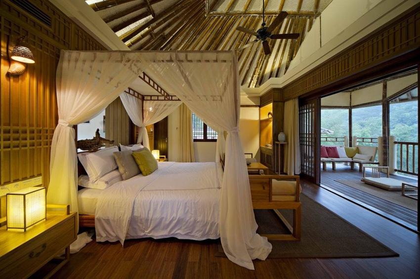 竹林生态中式风格卧室效果图