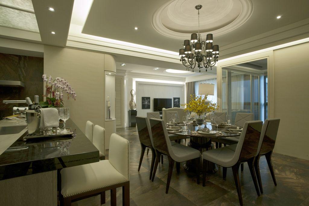 古典二居室家装餐厅装修效果图
