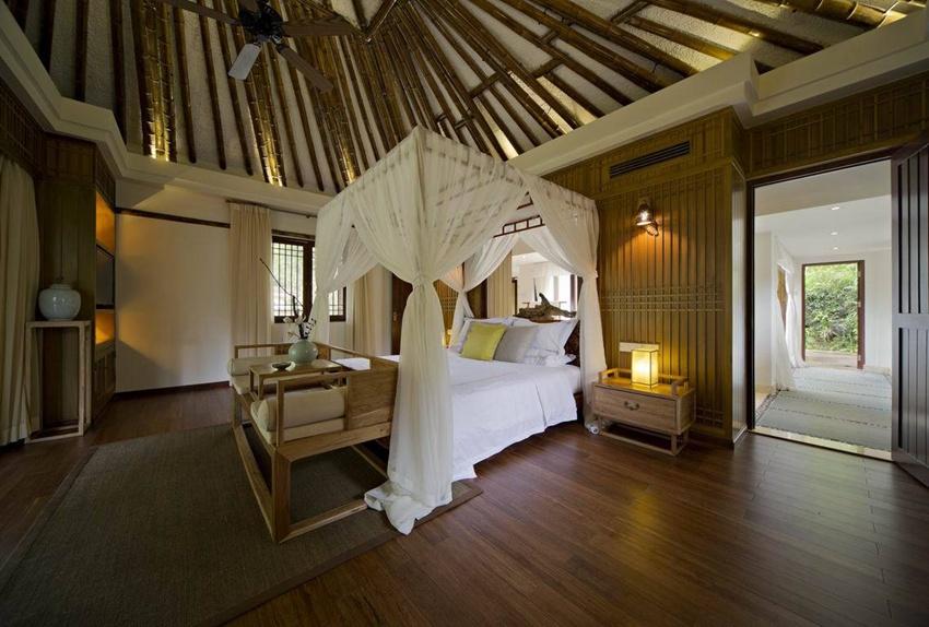 竹林生态中式风格卧室装修设计图