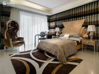 时尚北欧卧室窗帘效果图