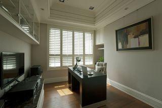 黛丽四居室现代风格家装书房效果图