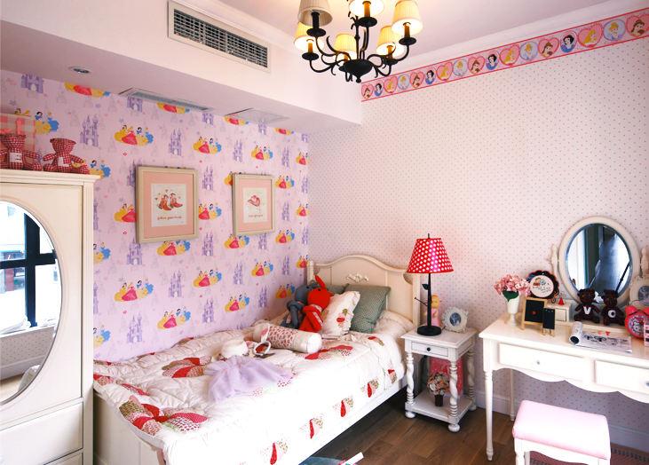 粉嫩小可爱豪宅儿童房