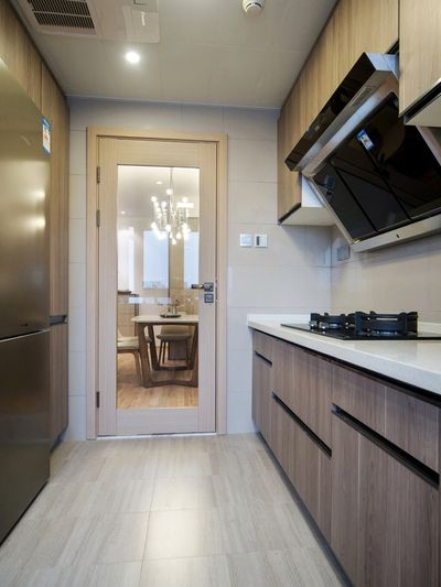 现代时尚小户型厨房橱柜