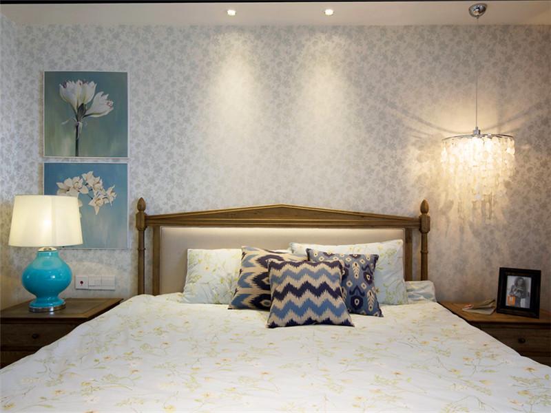 典雅欧式卧室设计效果图