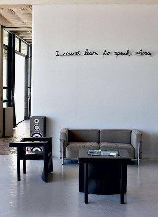 复古美式风格家装沙发背景墙效果图