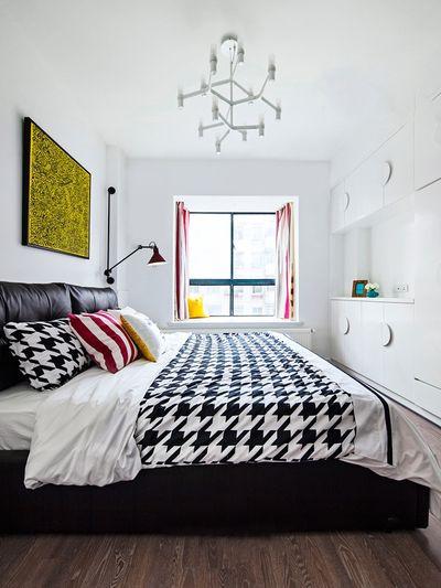多彩时尚波普风卧室装饰效果图