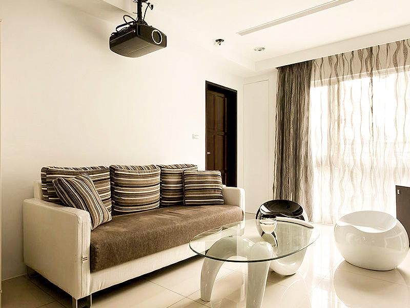 简约现代小客厅沙发效果图