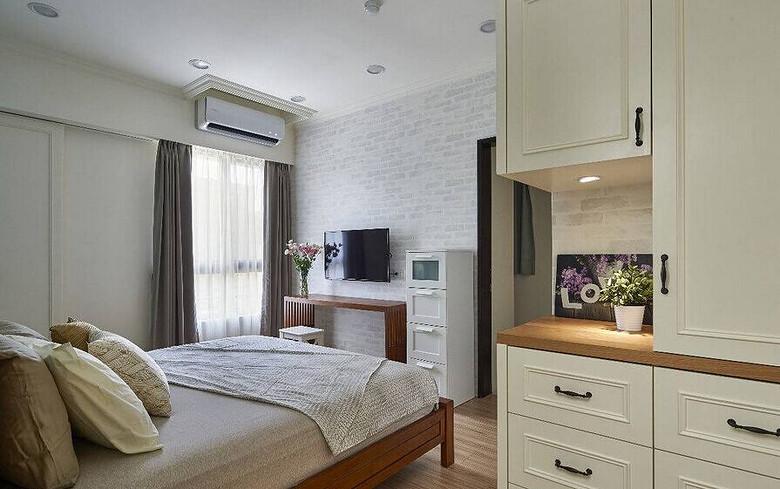 简洁北欧时尚卧室效果图