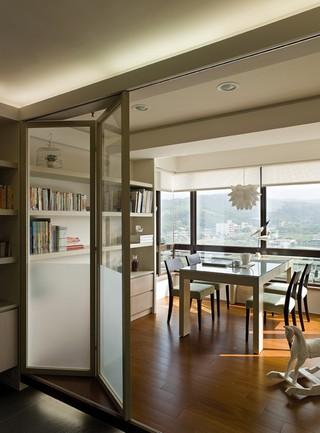 现代简约风格书房设计效果图