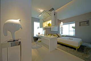 前卫现代主卧室特色隔断设计