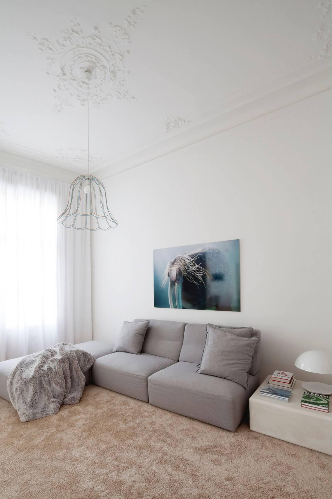 简约现代小户型客厅家装效果图