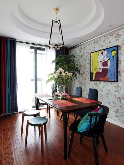 时尚混搭风格 餐厅装修设计效果图