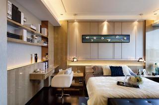 现代奢华卧室特色装饰效果图