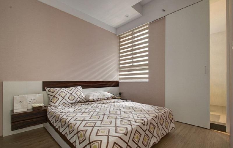 清净简约宜家风卧室效果图