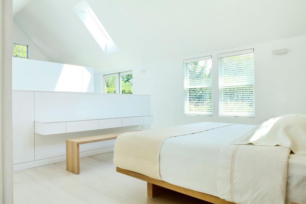 超简洁的阁楼卧室效果图