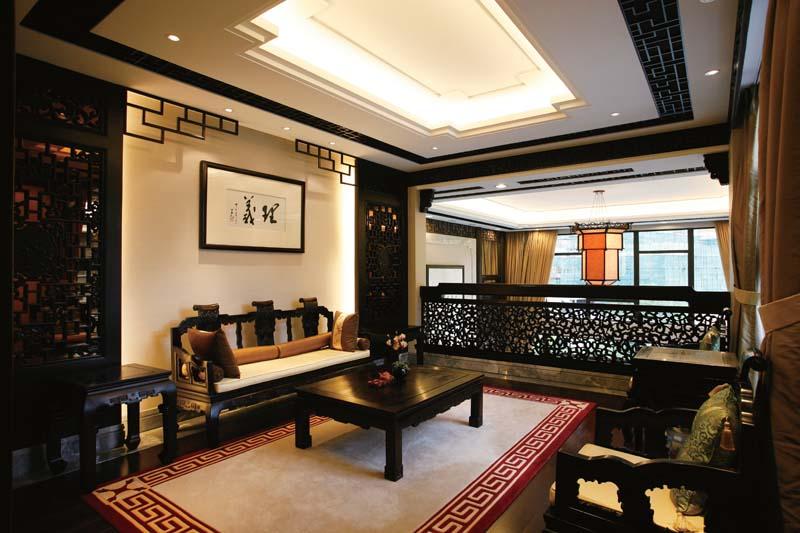 古典中式茶室装修效果图