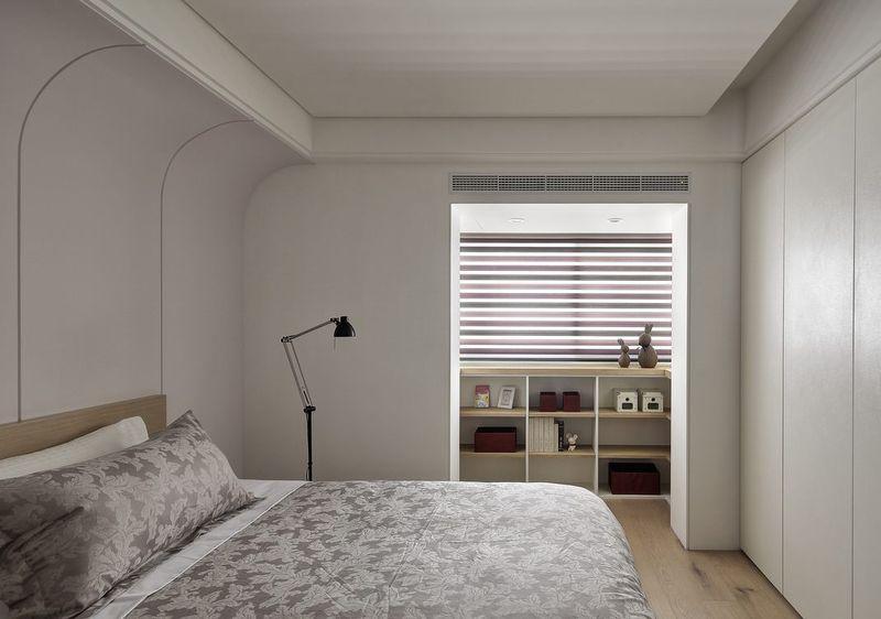 素雅现代简约卧室效果图