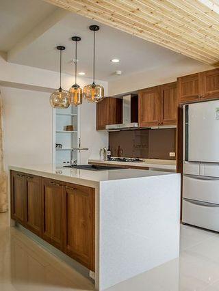 清新自然北欧小二居厨房装修效果图