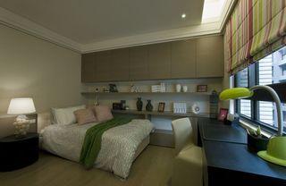 现代化的新古典风格次卧室效果图