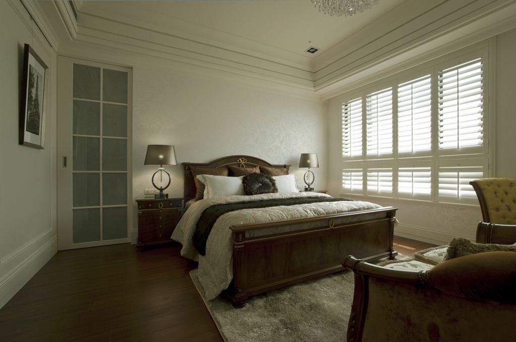黛丽四居室现代风格家装卧室效果图