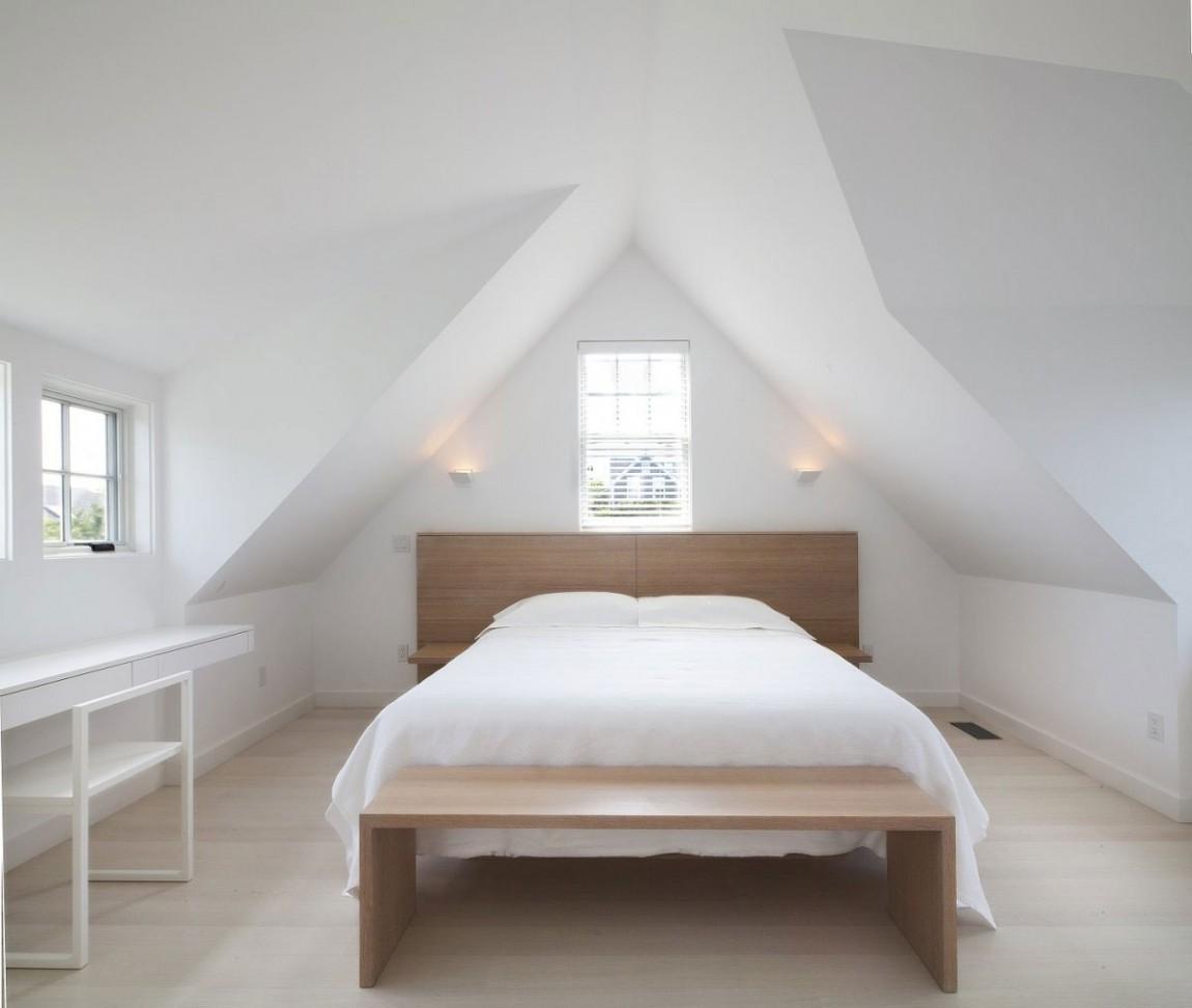 不规则阁楼卧室效果图