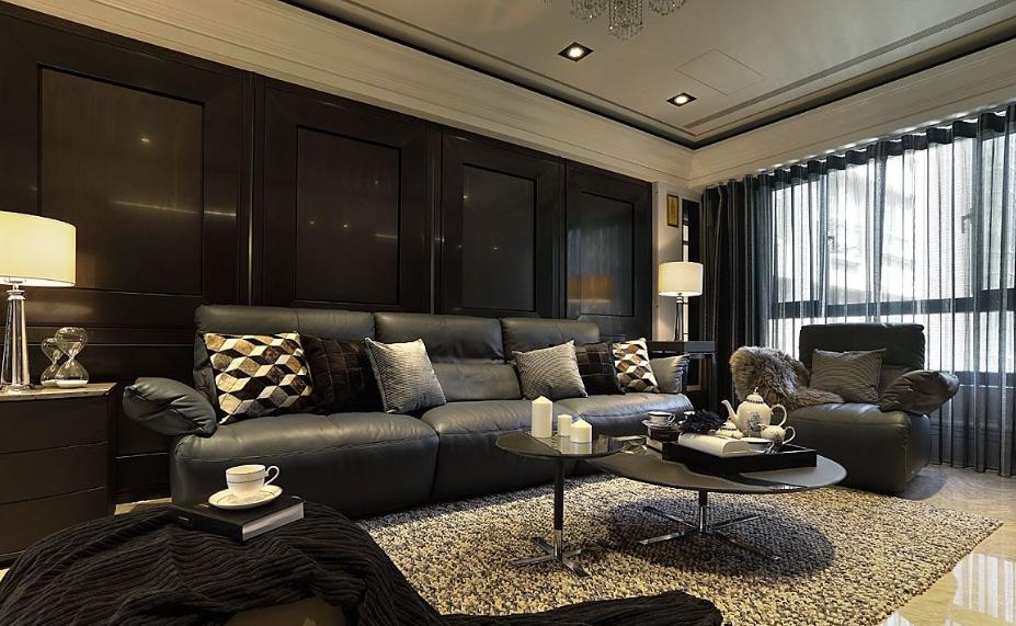 低调的奢华欧式范背景墙效果图