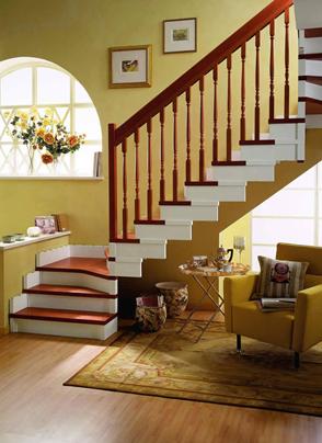 安装楼梯地板固定是关键