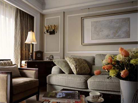 110平米美式 古典温馨时尚之家