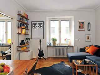 70平米欧式公寓 灵活运用节省空间