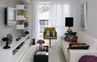70平米公寓 现代时髦艺术之美