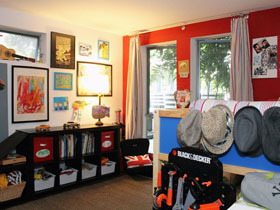 中西合璧loft 创意混搭个性二居室