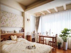 40平小套房 充满美式乡村风格的家