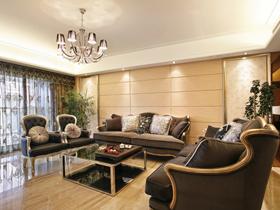 蓝色海岸公寓样板间 欧式古典三居室