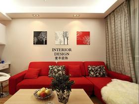 暖意融融 现代简约二居室