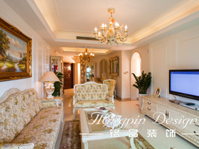 印象巴洛克 豪华型欧式两居室