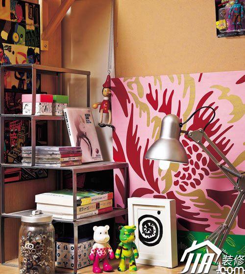 随性涂鸦墙饰 家的多种美丽表情 全文图片