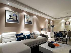 现代简约二居室 温馨舒适公寓