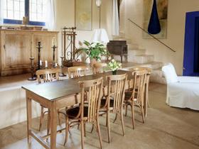 长方形餐桌布置 43个大餐厅全家享美食