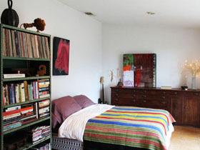 彩色缤纷装饰 2.8万打造不一样的单身居