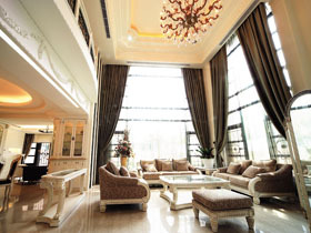 巴洛克华丽欧式风情 极致奢华别墅