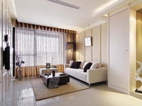 現代簡約風 一室一廳小戶型