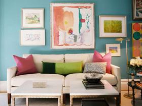 美式客厅 30个美式风格沙发搭配方案