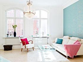 華美簡約歐式情調 打造溫馨歐式公寓