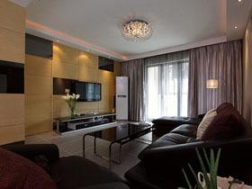 透明宽敞现代家 110平米二居室