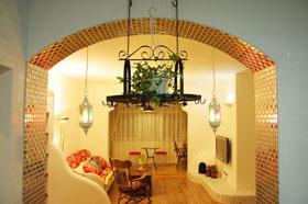 经济型装修 地中海风浪漫小屋