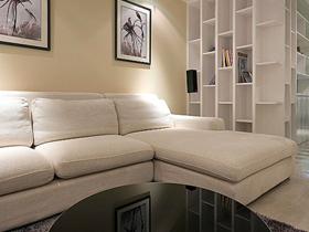 简单中带着奢华 20万打造90平舒适新房