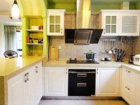 多功能小厨房 14款小户型厨房推荐