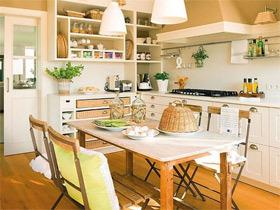 日式风格厨房可以这样装