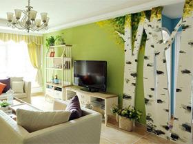 电视背景墙装修效果图153