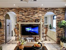 电视背景墙装修效果图130